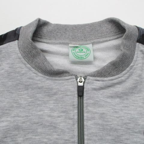 【17'春夏商品】デスポルチ/ トレーニングスウェットジップシャツ