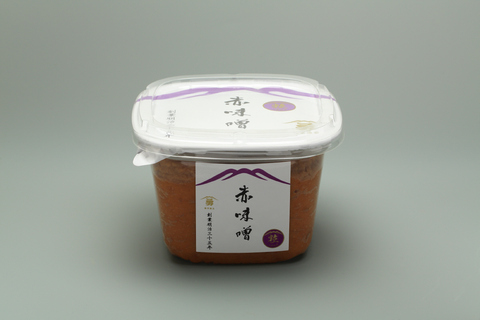 赤味噌 粒750g