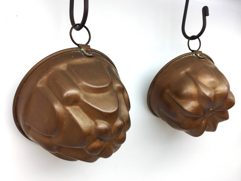 Copper Jelly Mould  - 銅製ゼリー型 -