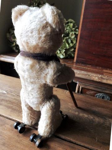 Schuco Rolly Teddy Bear  - シュコ社製 シュコロリー テディベアー -