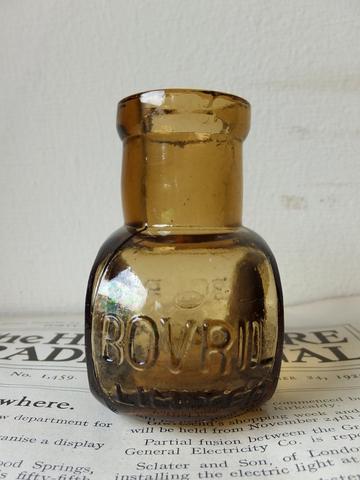 BOVRIL Bottle - ボヴリル ガラス瓶 -