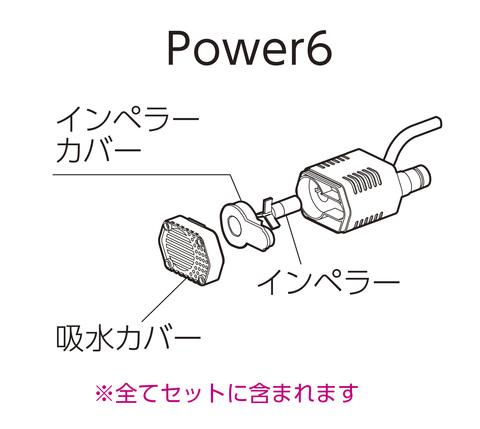 Power6(水中ポンプ)