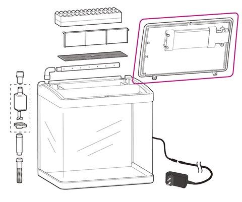 デビューN325専用LEDユニットカバー